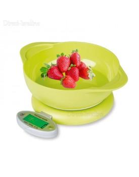 """משקל דיגיטלי למטבח כולל קערה ותצוגה מוארת עד 5 ק""""ג דיוק 1 גרם D3600 *במלאי מיידי*"""