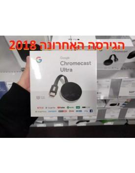 Google Chromecast ULTRA *במלאי מיידי*