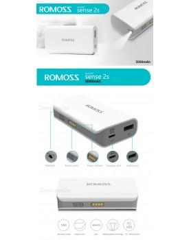 Romoss Sense 2s 5,000mAh מטען נייד דגם חדיש ומתקדם