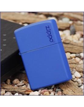 מצית זיפו Zippo 229ZL Zippo Logo Royal Blue Matte *במלאי מיידי*