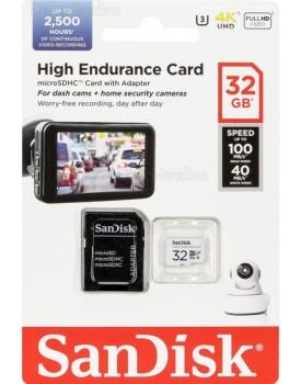 SanDisk High Endurance Micro SDXC 32GB SDSQQNR-032G