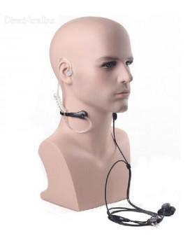 אוזניית מאבטחים עם מיקרופון למכשיר קשר Baofeng BF-888S *במלאי מיידי*