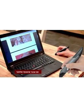עכבר ארגונומי אלחוטי בעיצוב עט כתיבה D3149
