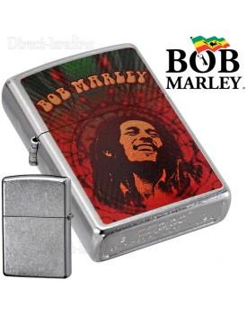 מצית זיפו Zippo 24991 Bob Marley Street Chrome Finish *במלאי מיידי*