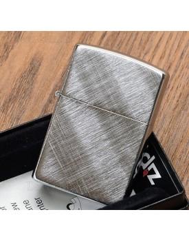מצית זיפו Zippo 28182 Diagonal Weave Chrome Finish *במלאי מיידי*