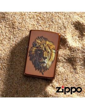 מצית זיפו Zippo 29865 Polygonal Lion *במלאי מיידי*