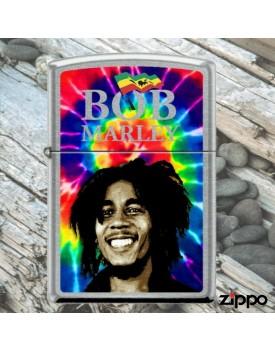מצית זיפו Zippo 9921 Bob Marley Street Chrome Finish *במלאי מיידי*