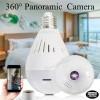 מצלמת אבטחה 360 מעלות בעיצוב נורה בשליטה מרחוק D2986 1080P *במלאי מיידי*