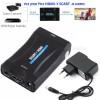מתאם מ- SCART to HDMI *במלאי מיידי*